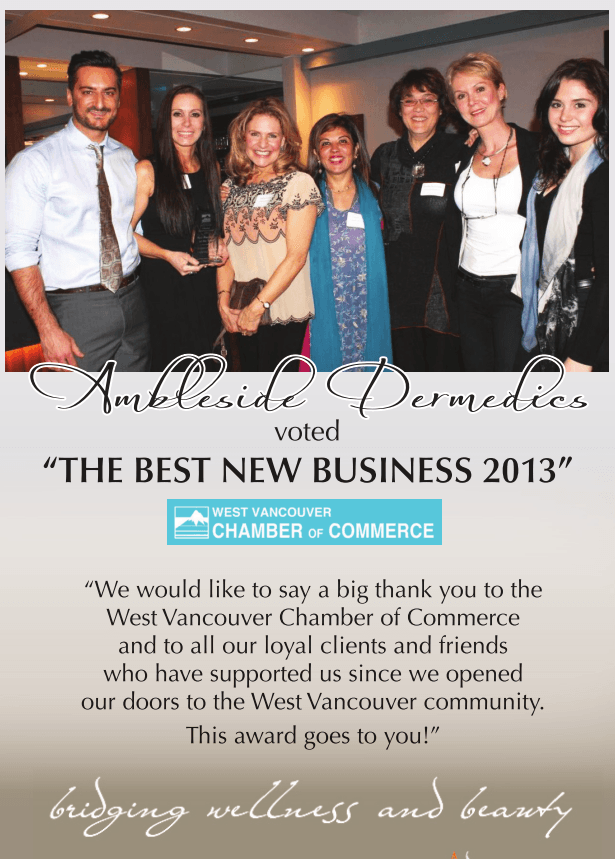best new business 2013, west vancouver, bc